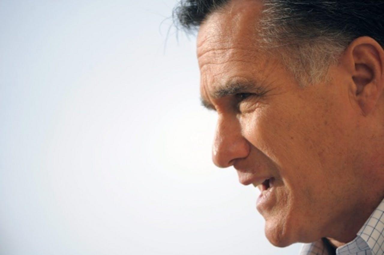 Mitt Romney. EPA
