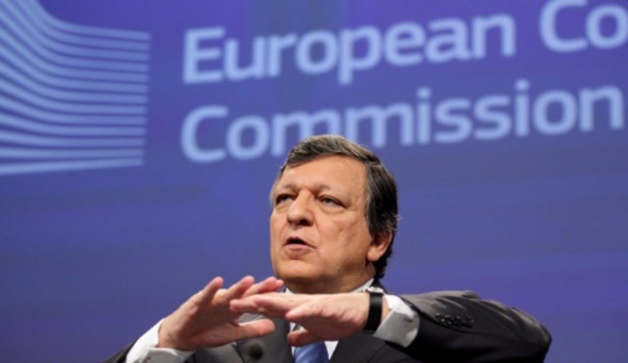 José Manuel Barroso, de voorzitter van de Europese Commissie. EPA