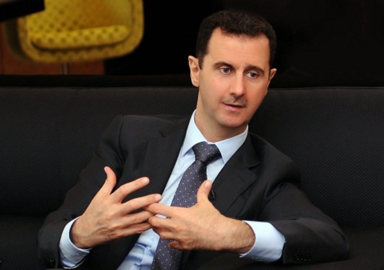 President Bashar al-Assad van Syrië. EPA