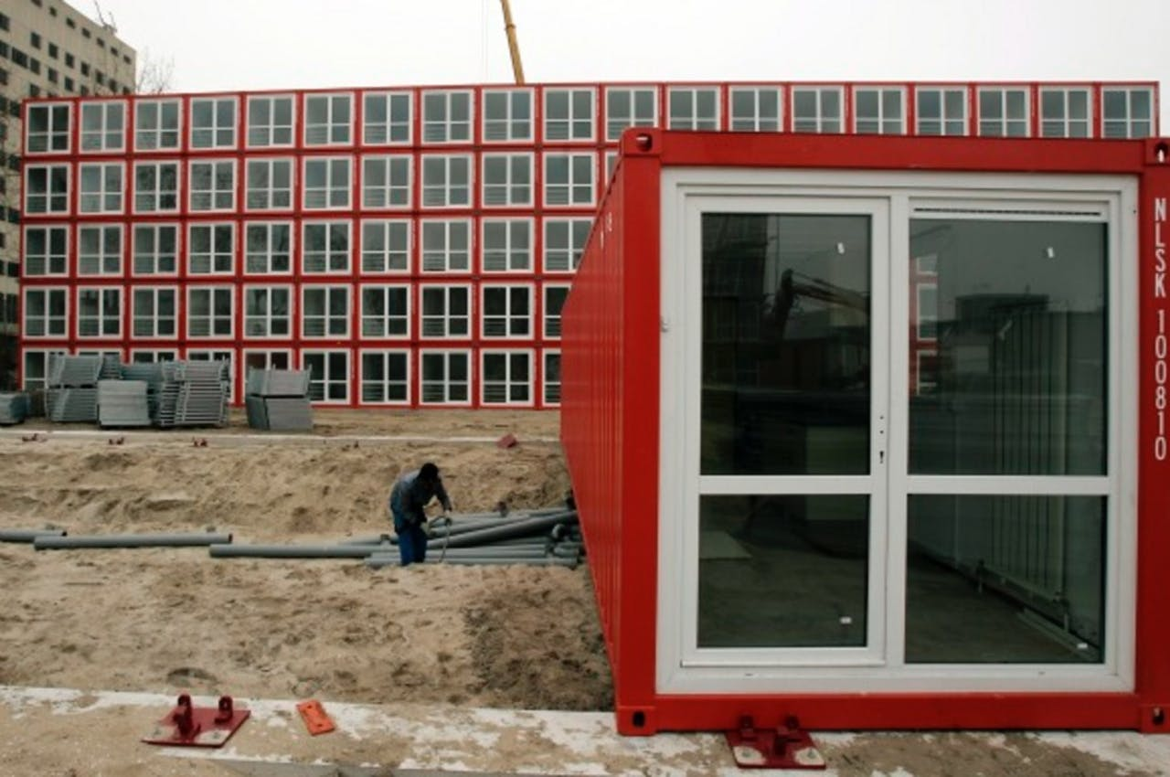 Veel nieuwe studentenkamers gebouwd in hoofdtad