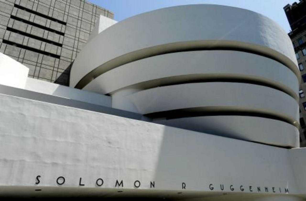 Het Guggenheim in New York. EPA