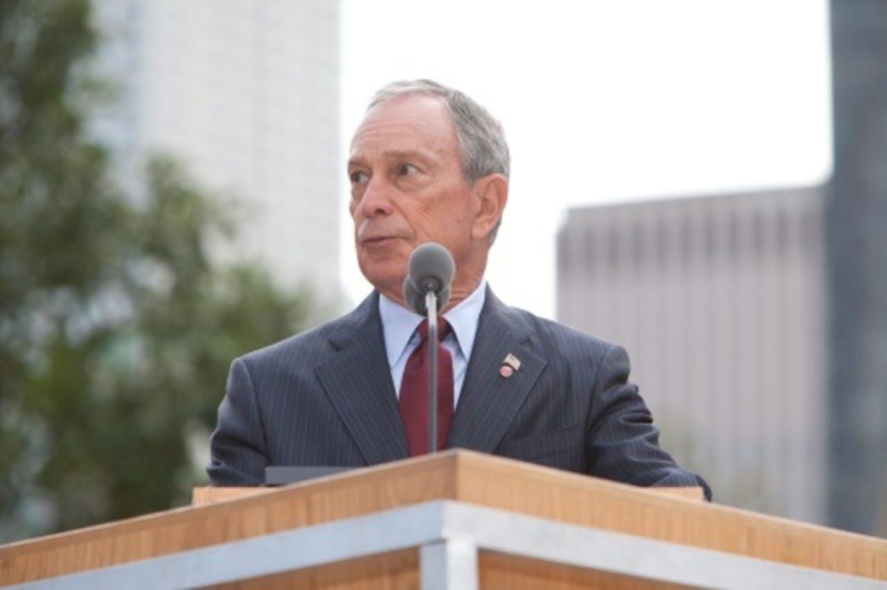 Burgemeester Bloomberg van New York. EPA