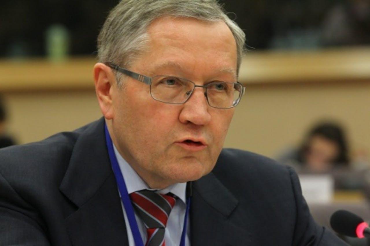Topman Klaus Regling van het EFSF. EPA