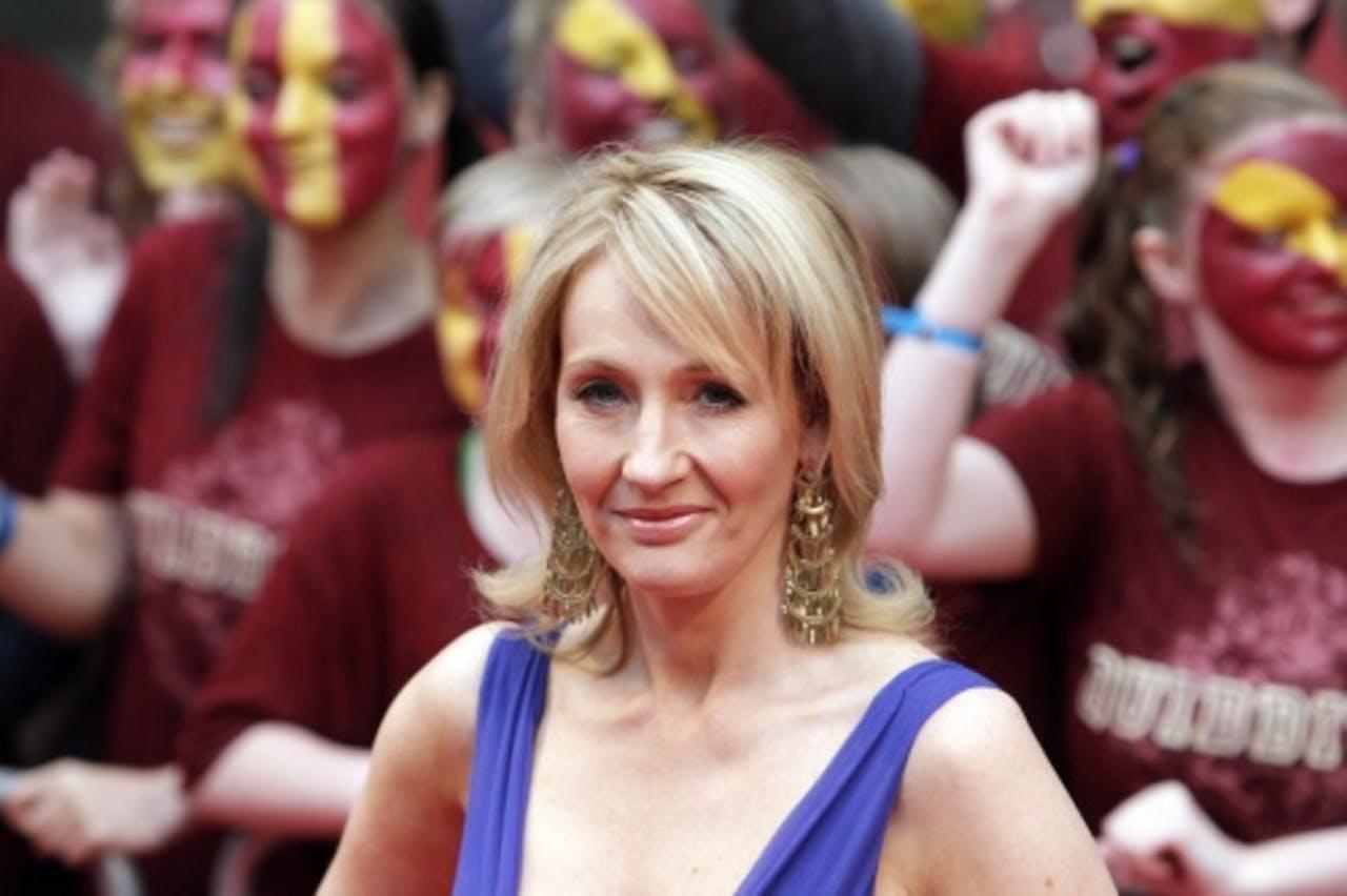 J.K. Rowling. EPA