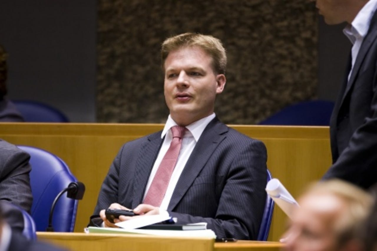 CDA-Kamerlid Pieter Omtzigt. ANP