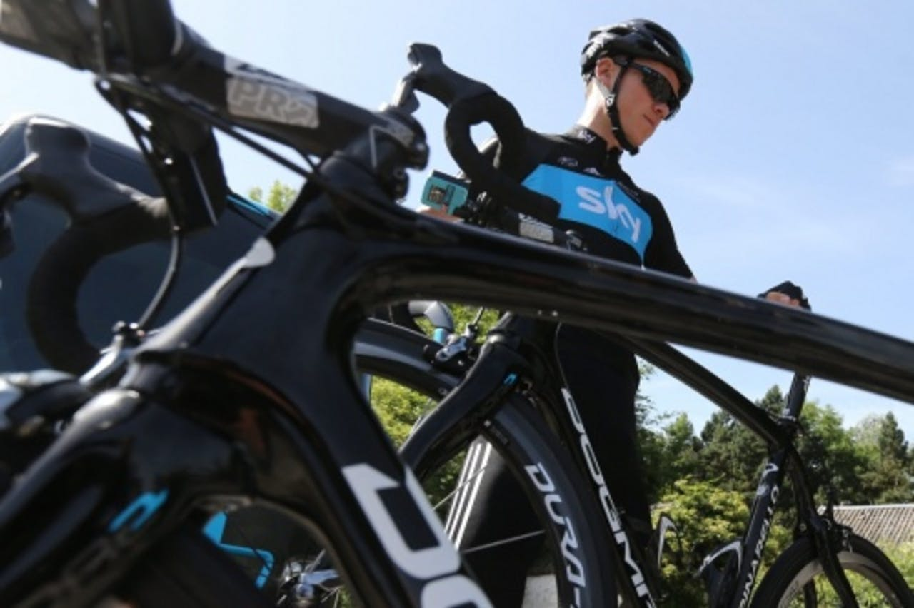 Christopher Froome. EPA
