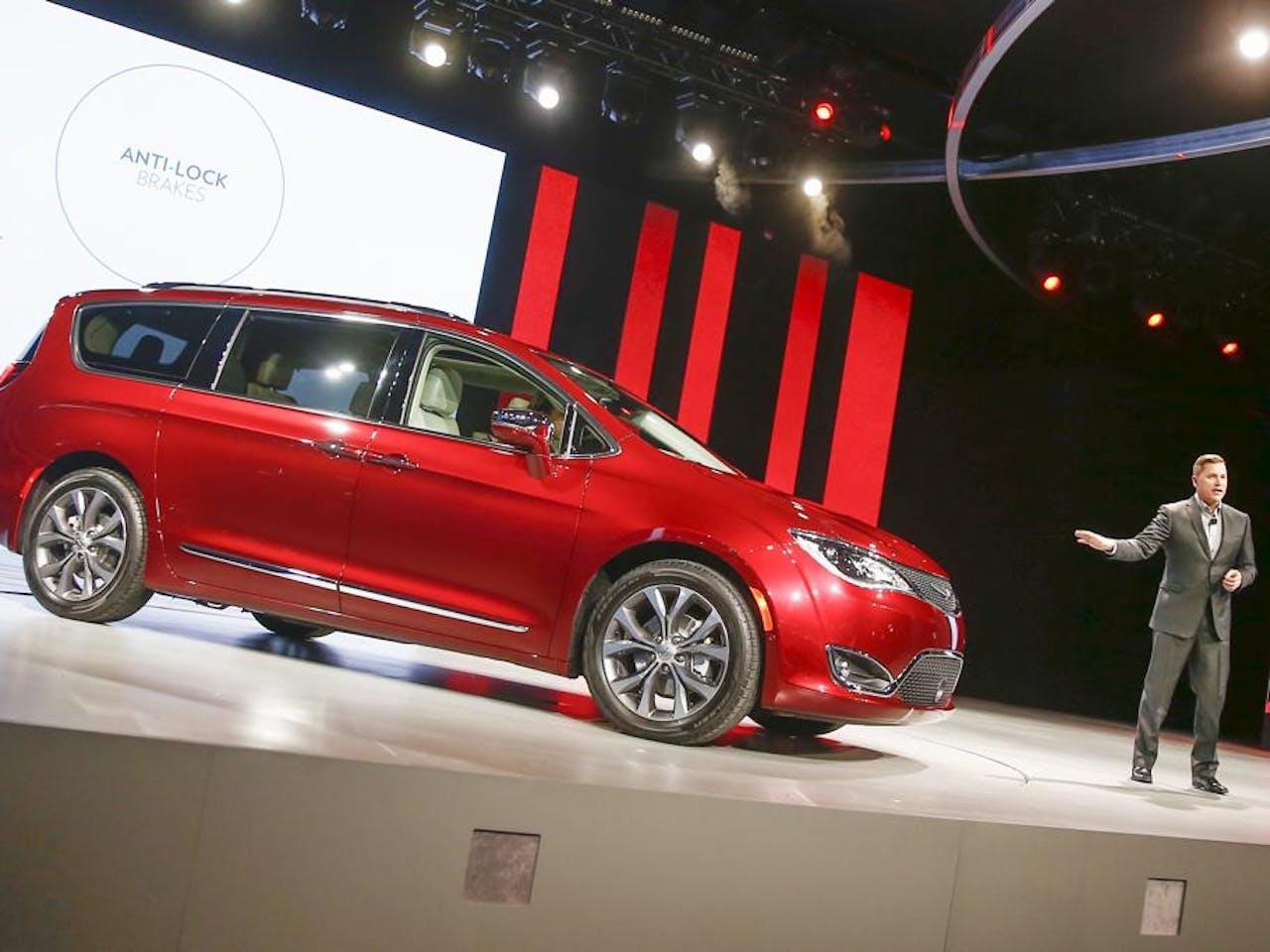De Fiat Chrysler Pacifica. Foto: ANP
