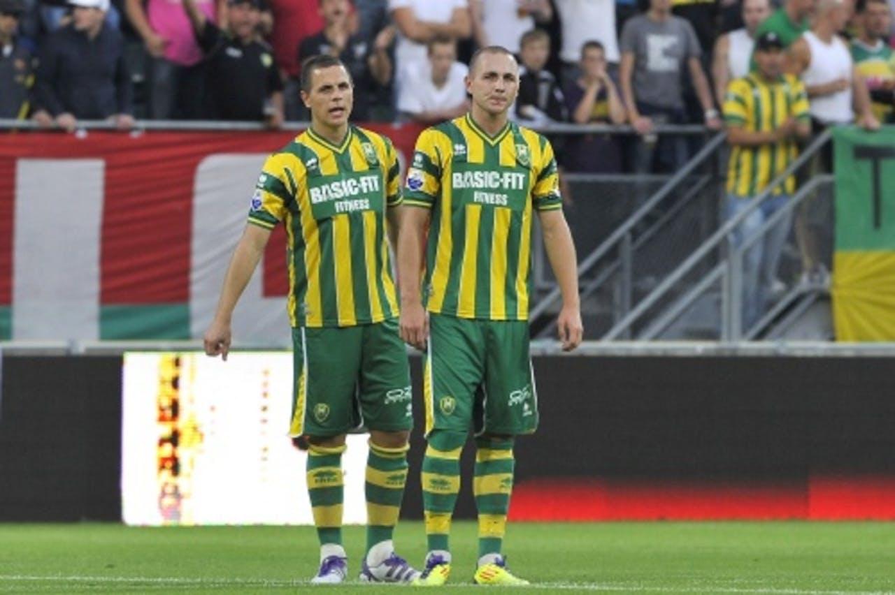Wesley (L) en John Verhoek. ANP