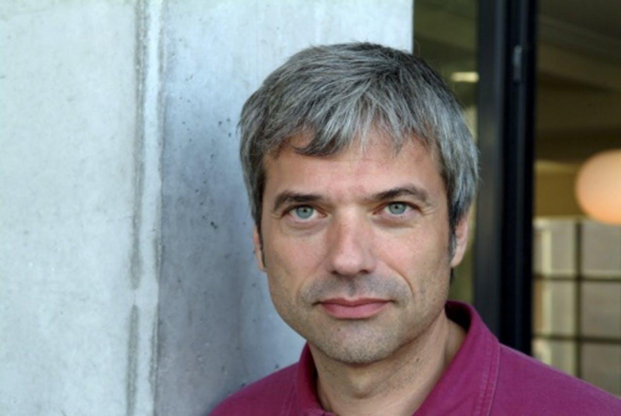 Presentator Jan Leyer. ANP