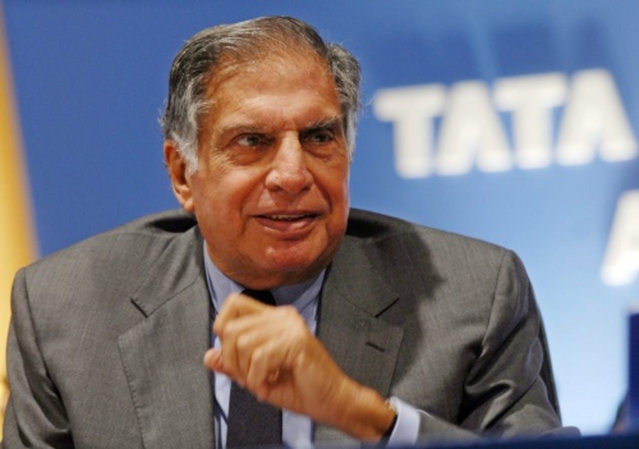 Ratan Tata. EPA