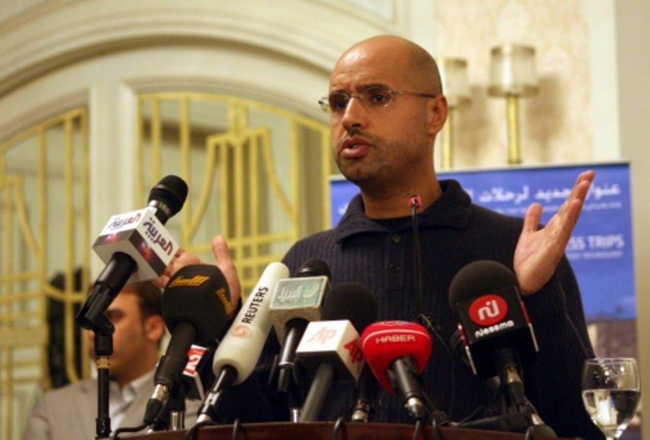 Saif al-Islam Kaddafi. EPA