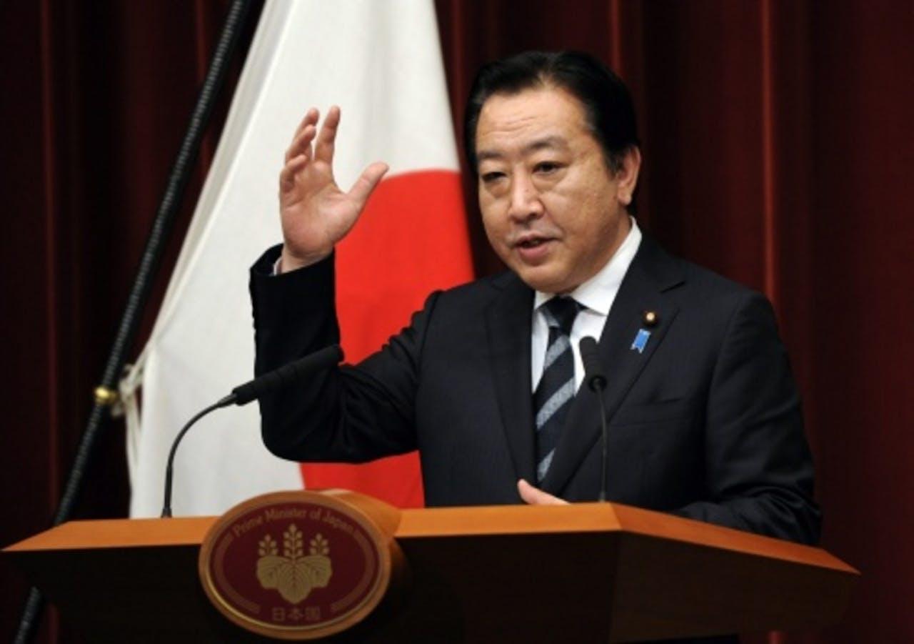 Yoshihiko Noda. EPA