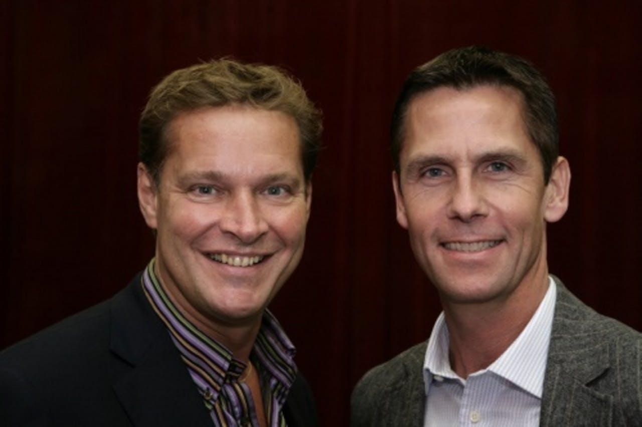Albert Verlinde (L) en Roel Vente (R). ANP Kippa