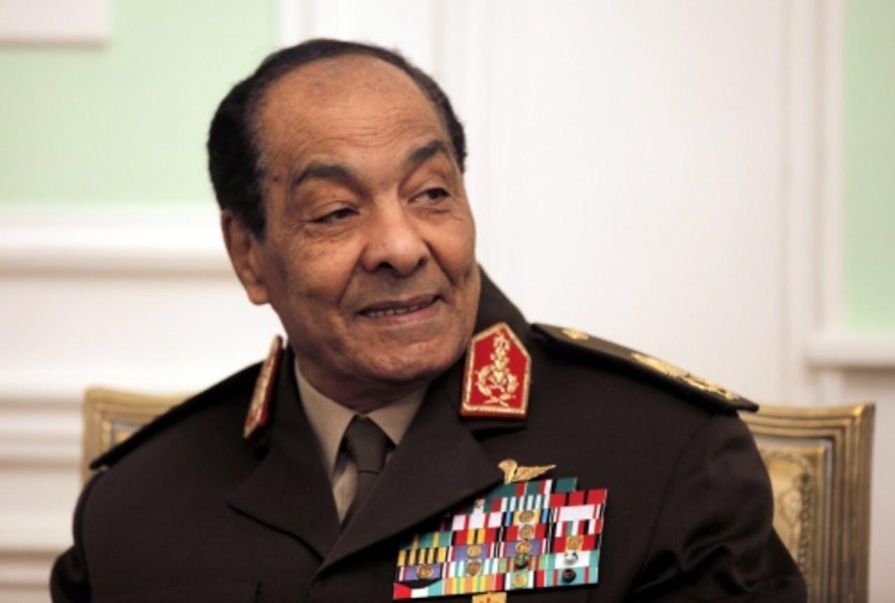 Hussein Tantawi. EPA