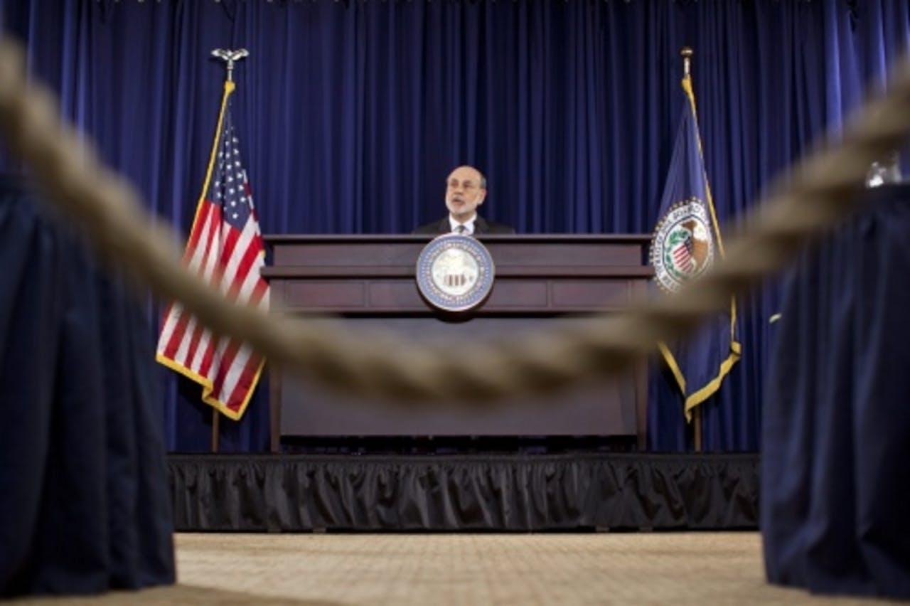 Ben Bernanke. EPA