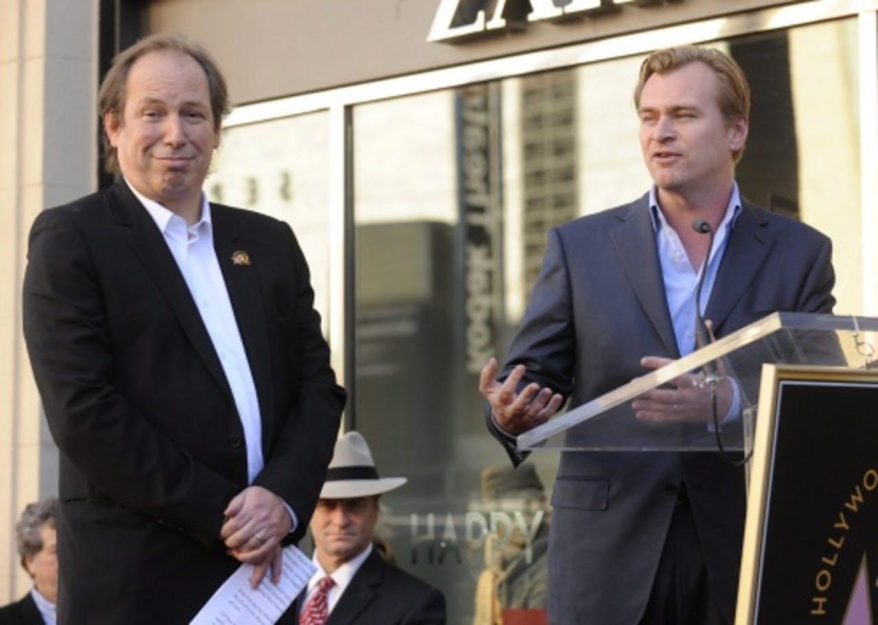 Christopher Nolan (R) (archieffoto, december 2010). EPA