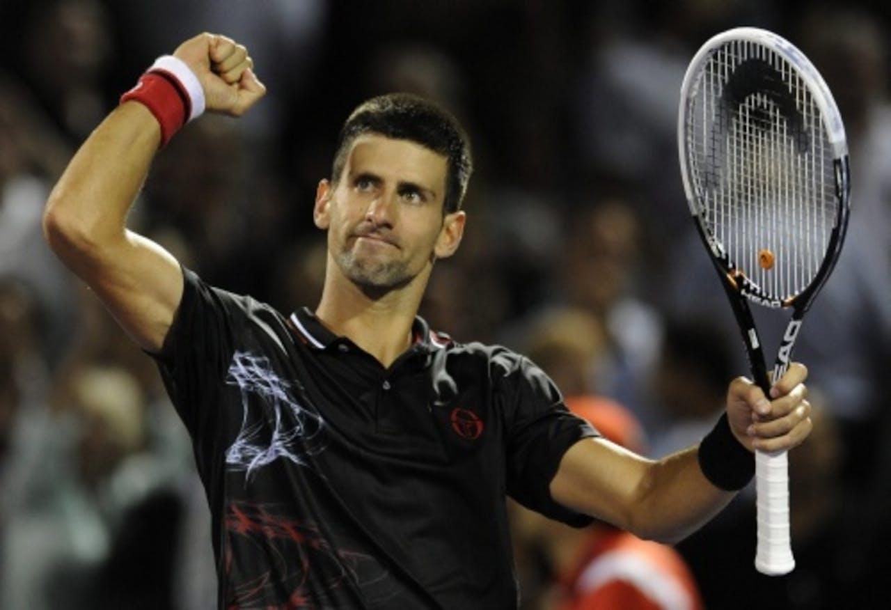 Archiefbeeld van Novak Djokovic. EPA