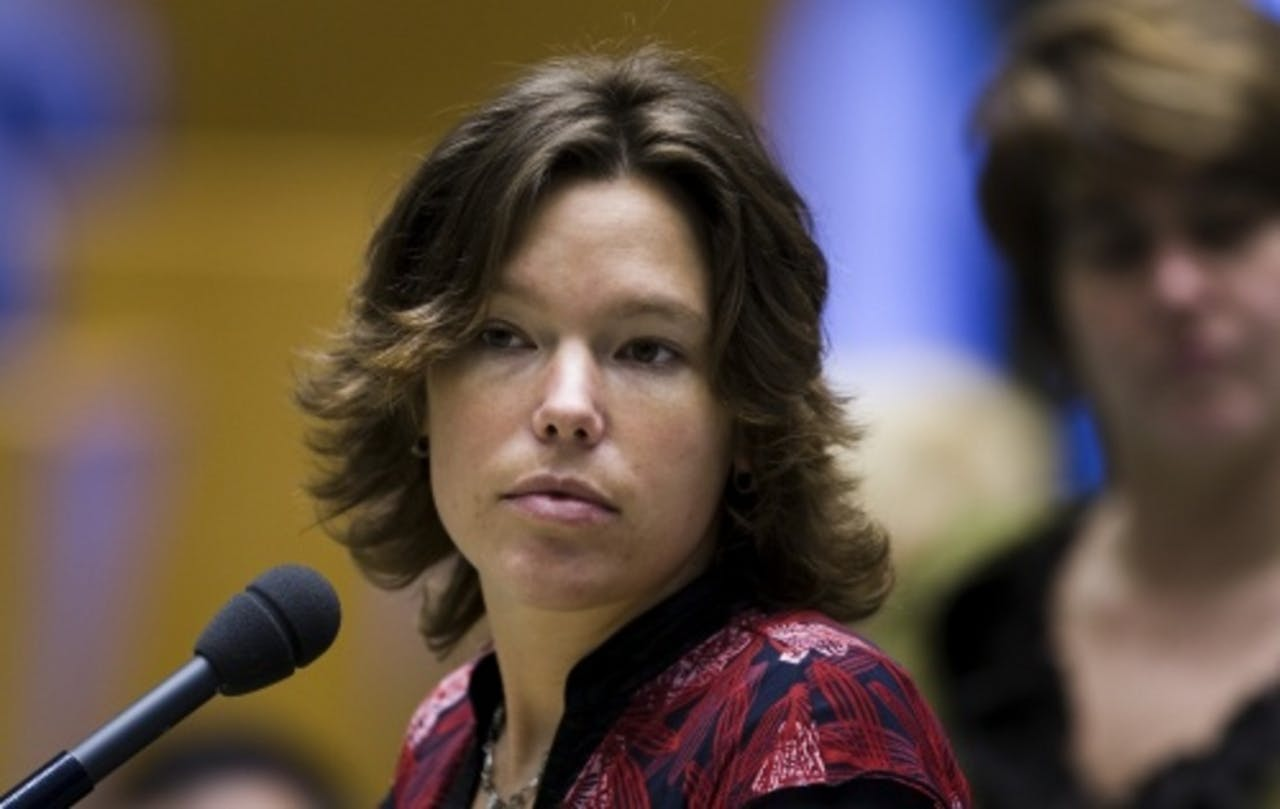 Lea Bouwmeester. ANP