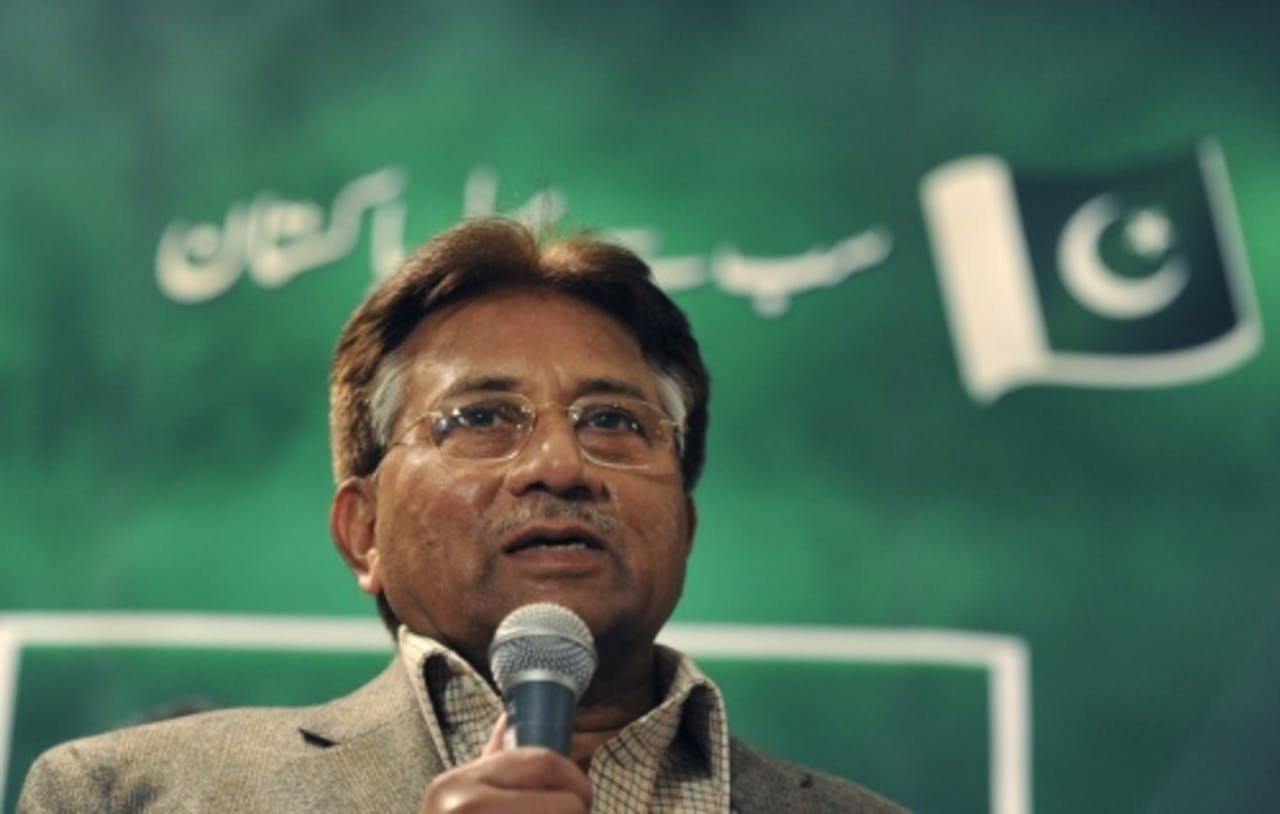Pervez Musharraf. EPA