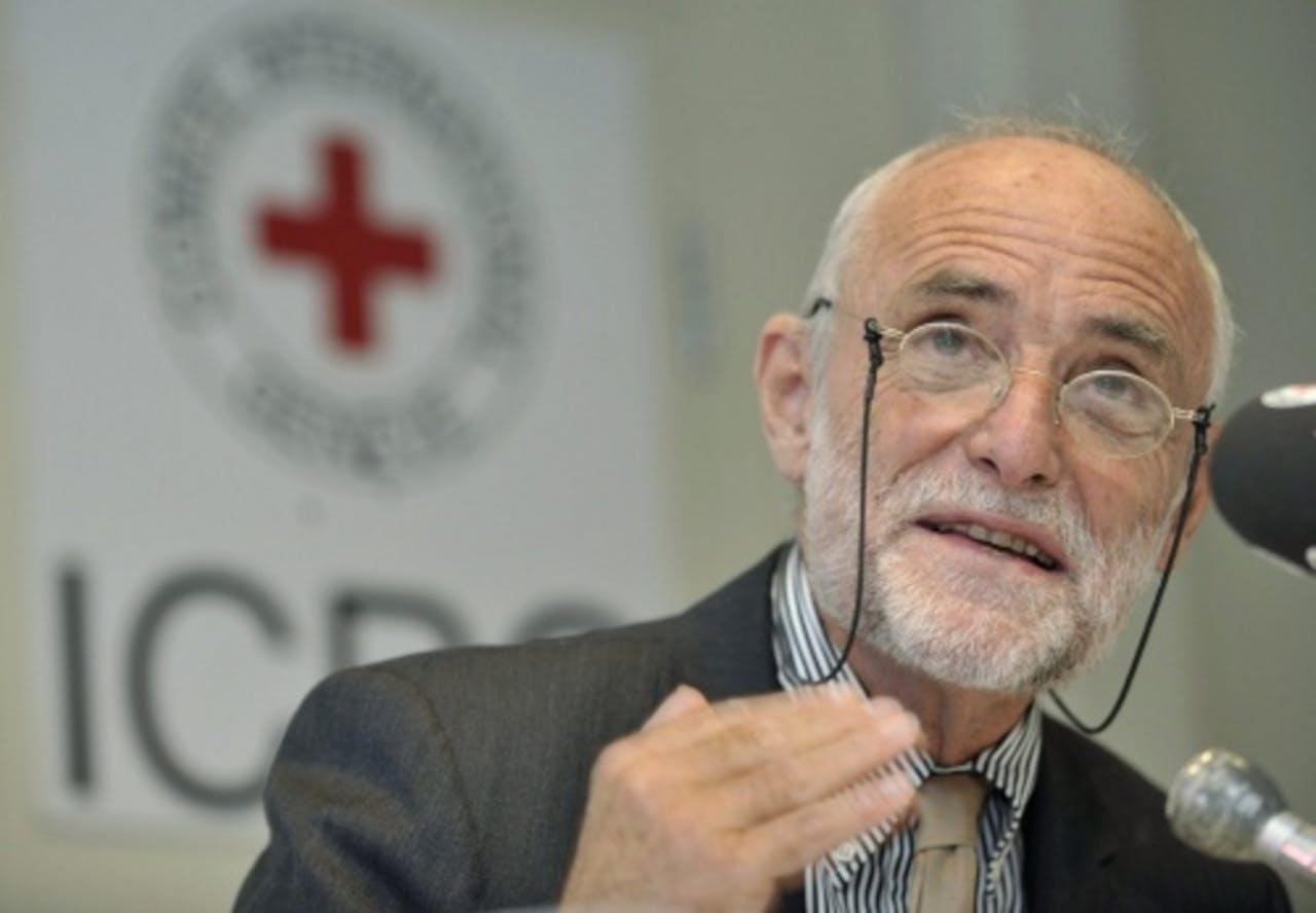 Jakob Kellenberger. EPA
