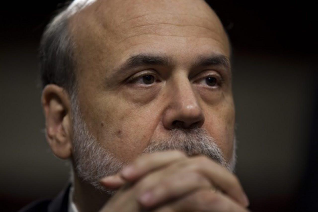 Fed-president Ben Bernanke. EPA