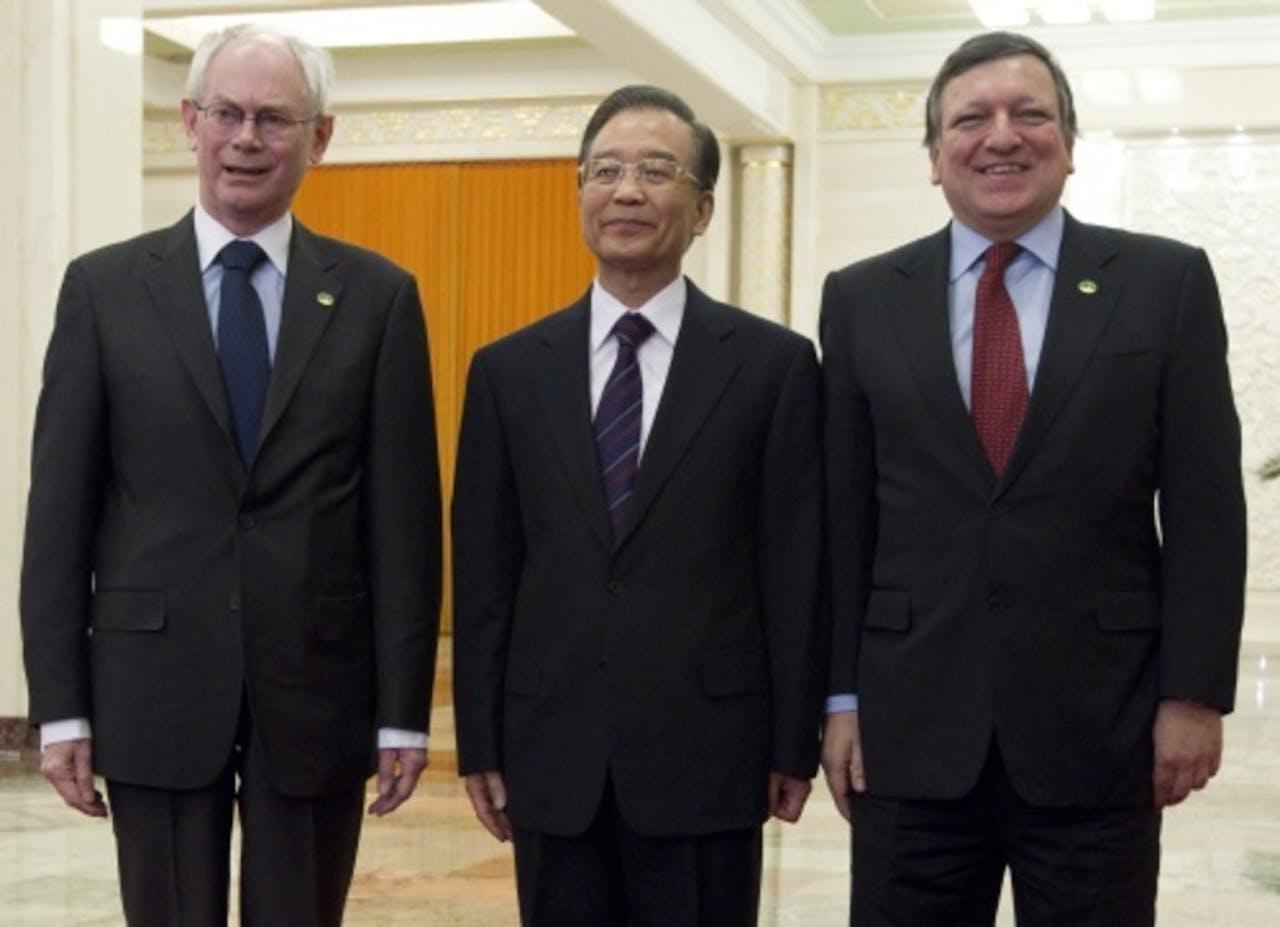 Wen Jiabao (M). EPA