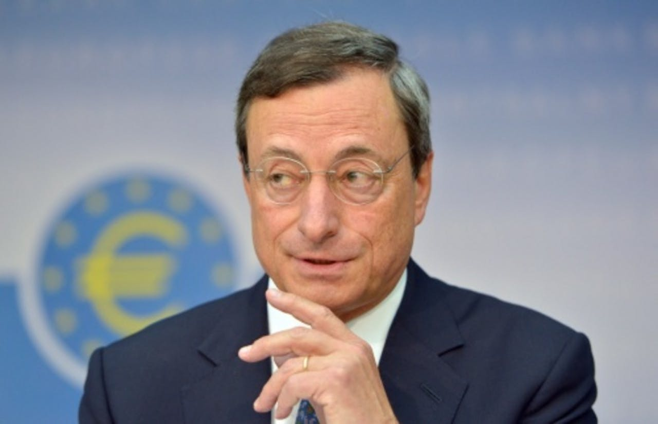 ECB-president Mario Draghi. EPA