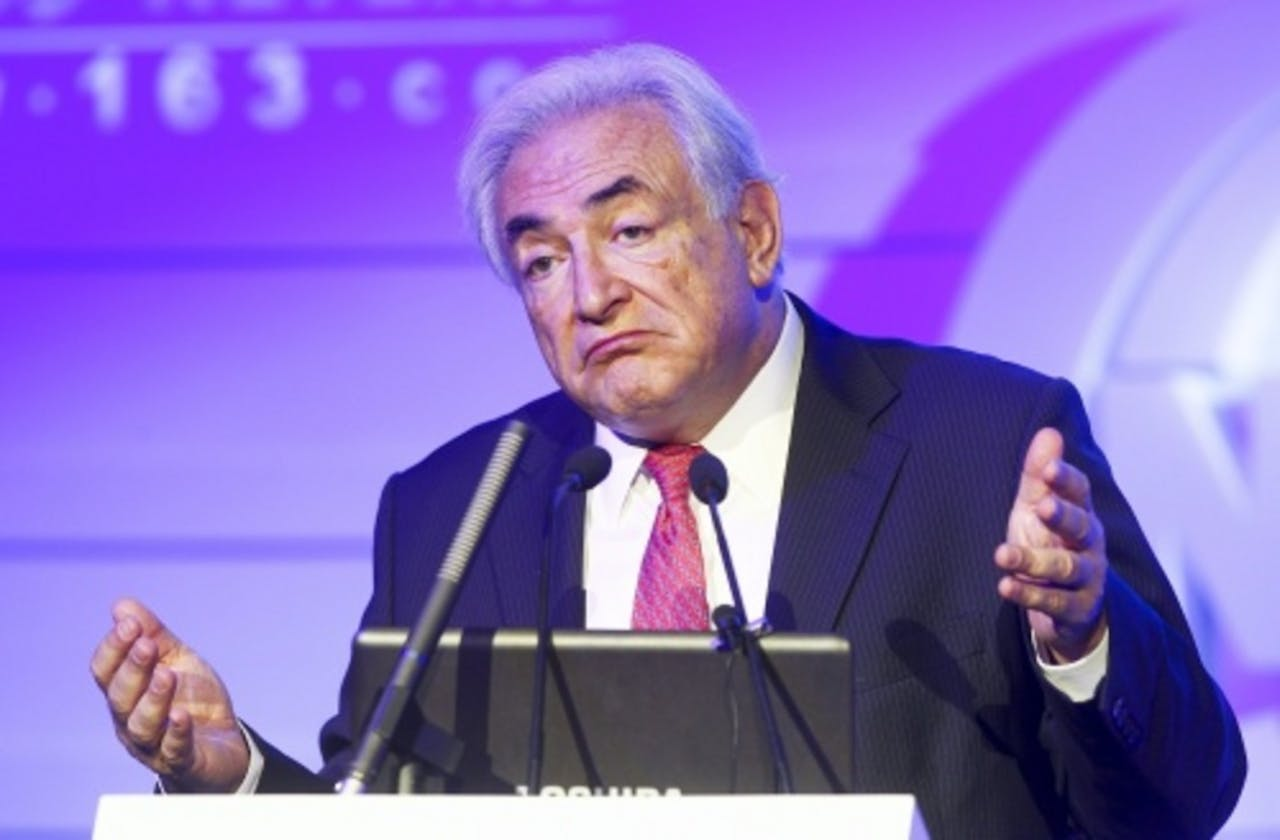 Dominique Strauss-Kahn. EPA