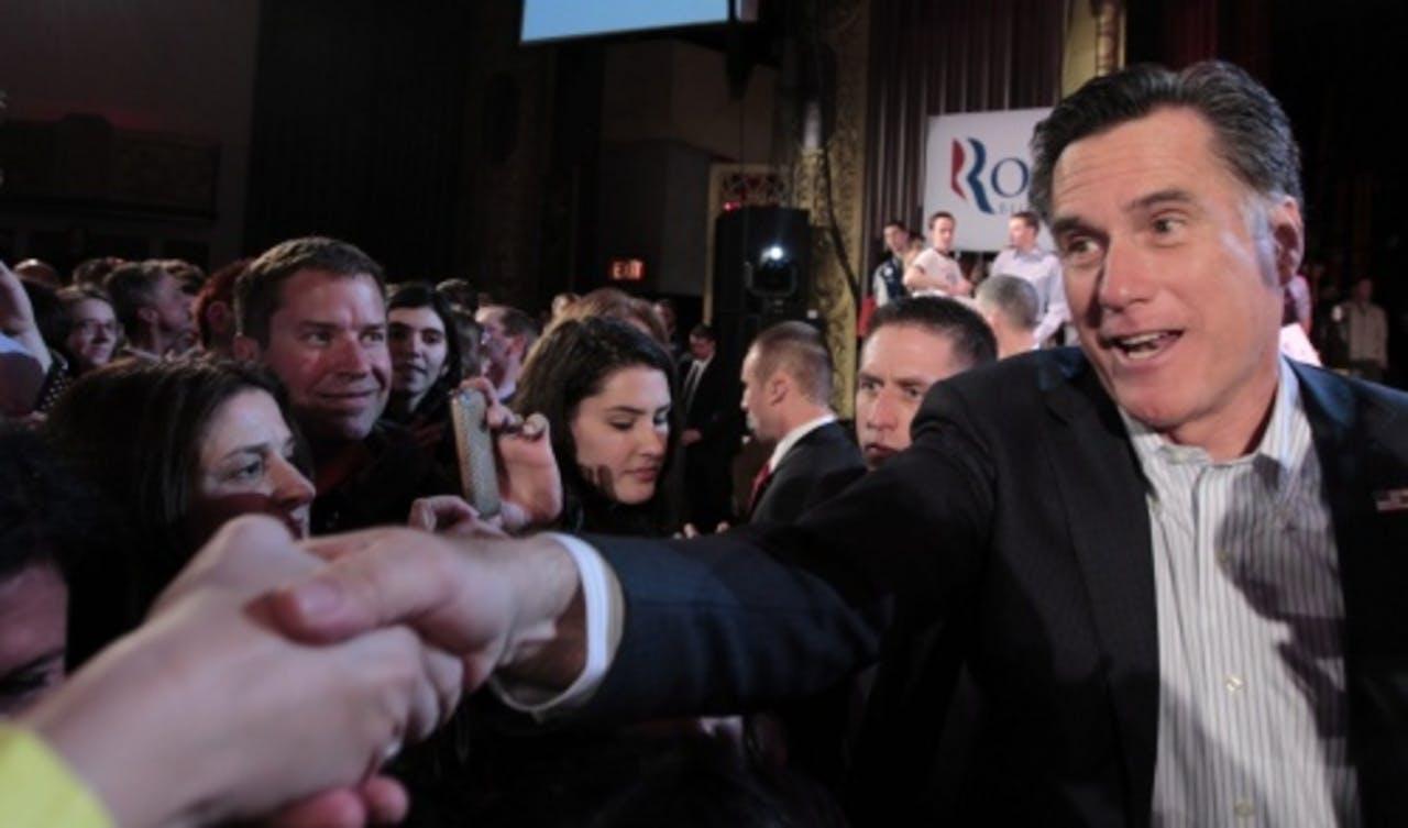 Mitt Romney. ANP.
