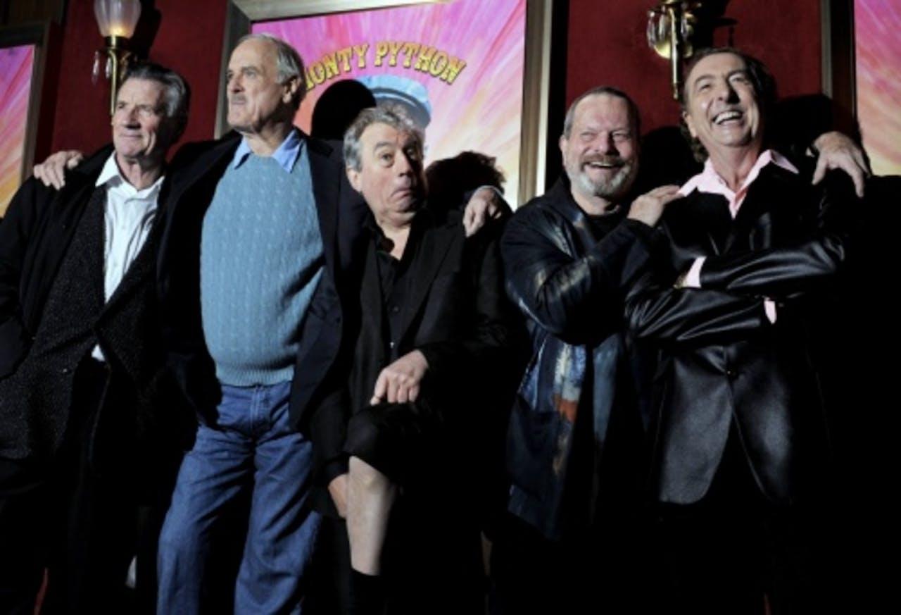 Michael Palin, John Cleese, Terry Jones, Terry Gilliam and Eric Idle. EPA