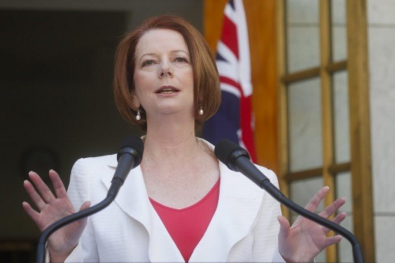 Julia Gillard. EPA