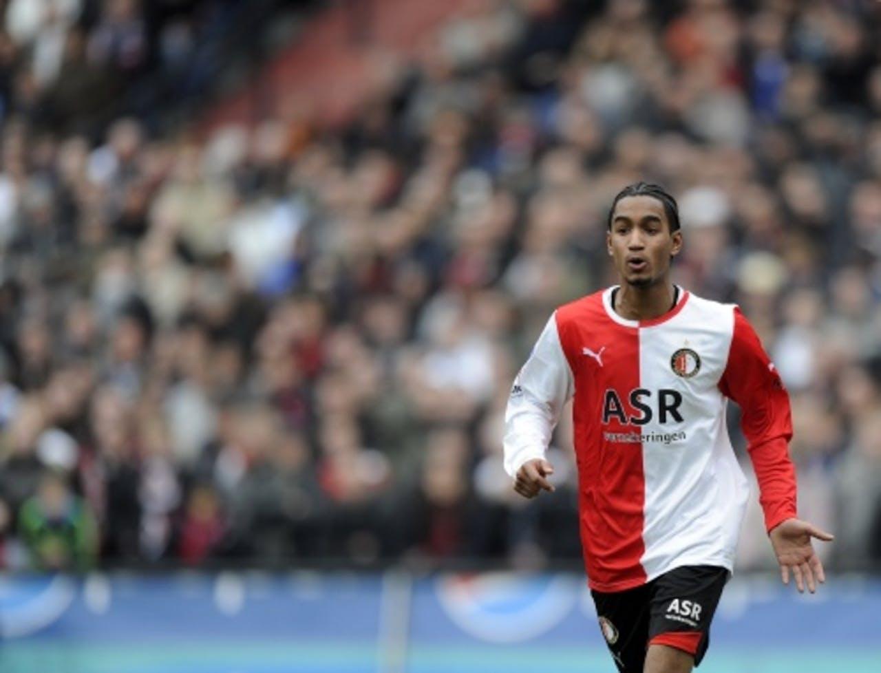 Jerson Cabral, hier nog in het shirt van Feyenoord. ANP