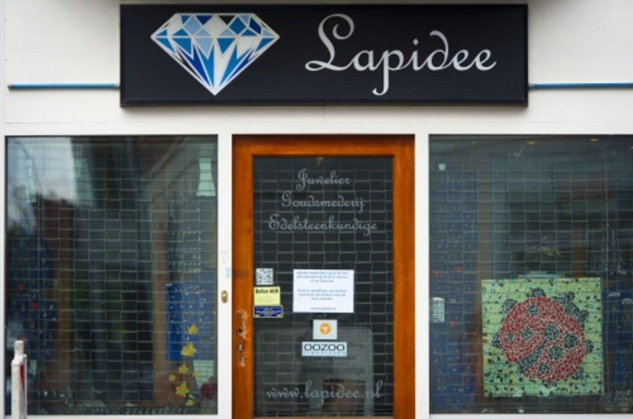 De juwelier Lapidee. NP