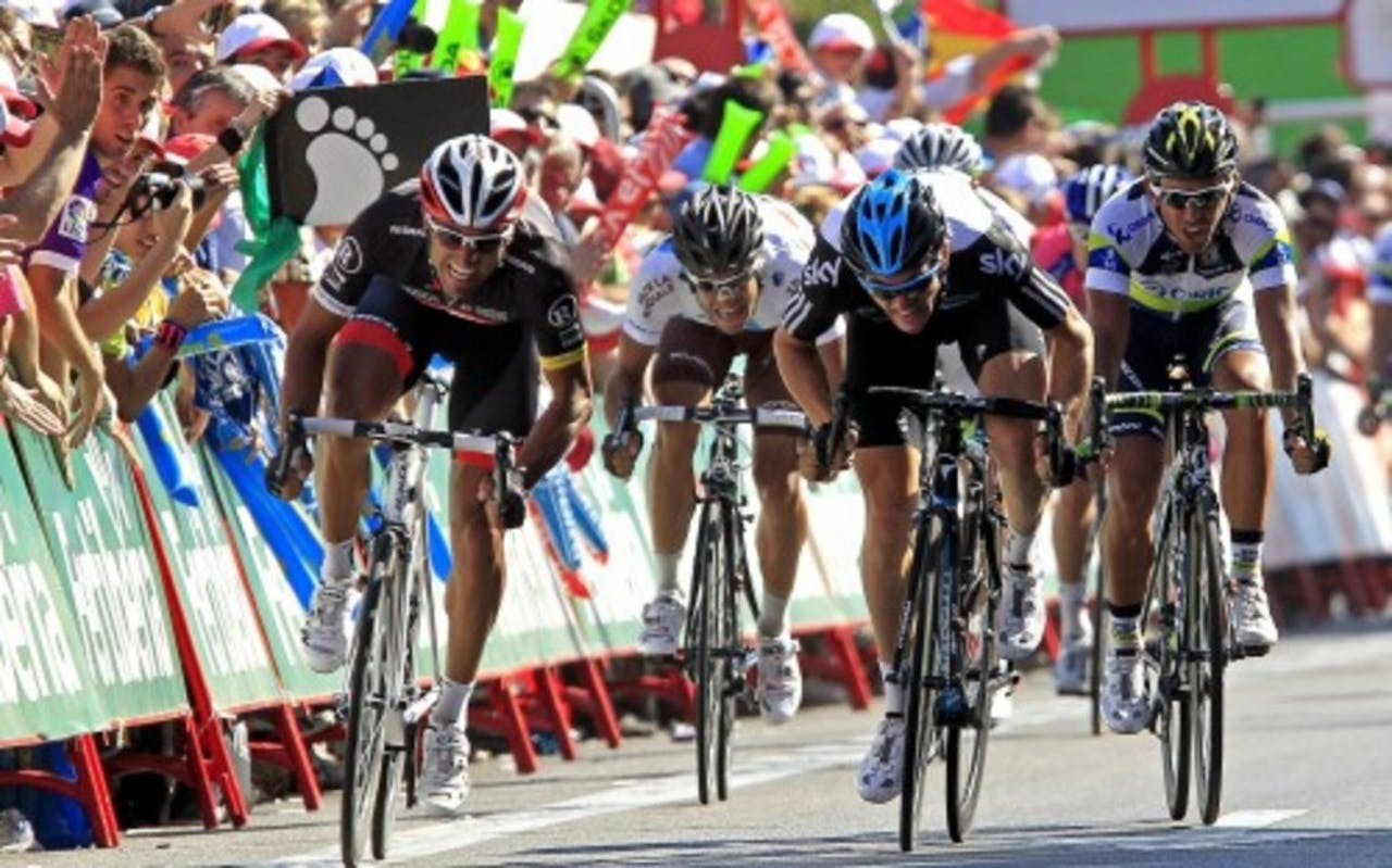 Archiefbeeld van de Vuelta. EPA