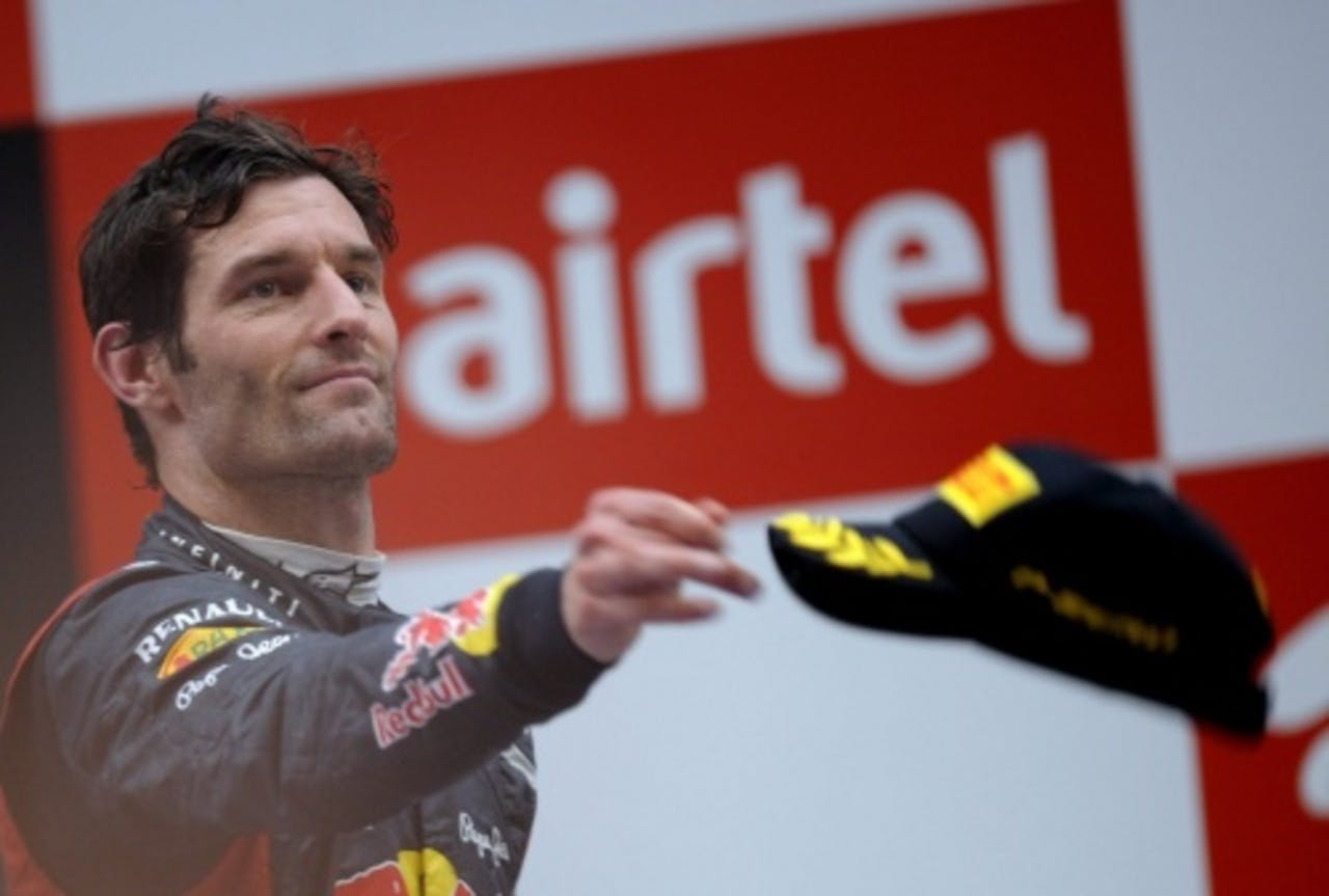 Mark Webber. EPA
