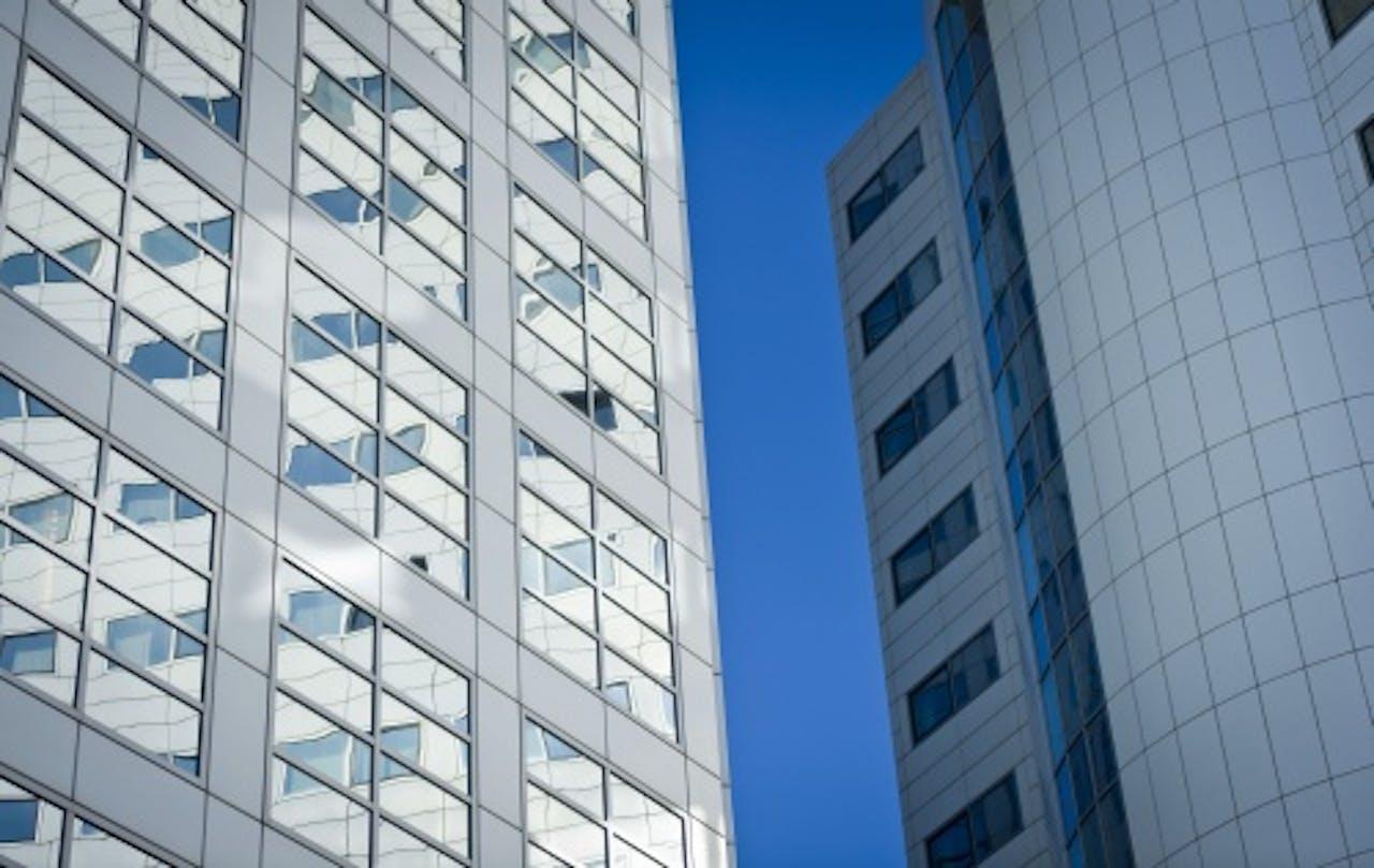 Het Internationaal Strafhof (ICC) in Den Haag. ANP