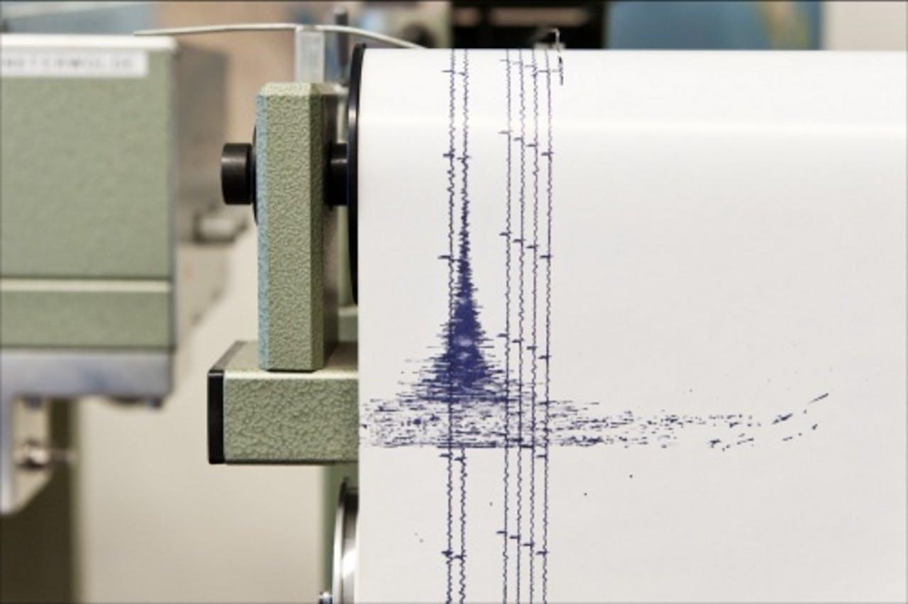 Een seismograaf. ANP