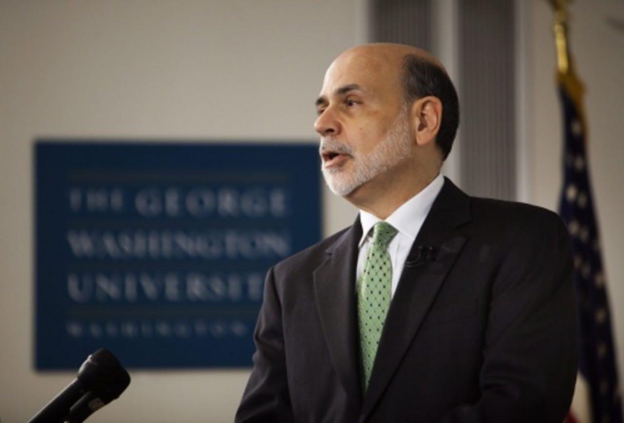 Fed-voorzitter Ben Bernanke. EPA