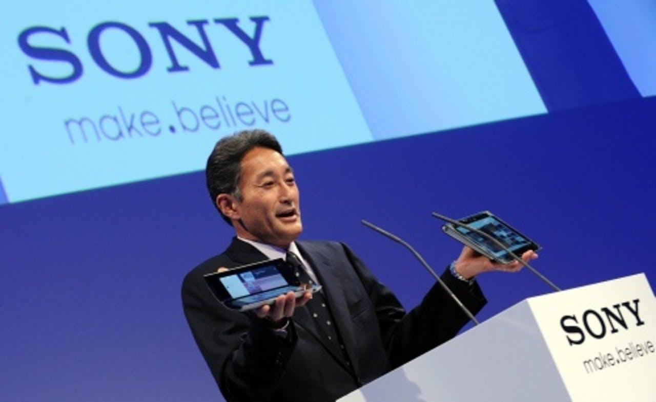 De nieuwe Sony-topman Kazuo Hirai. EPA