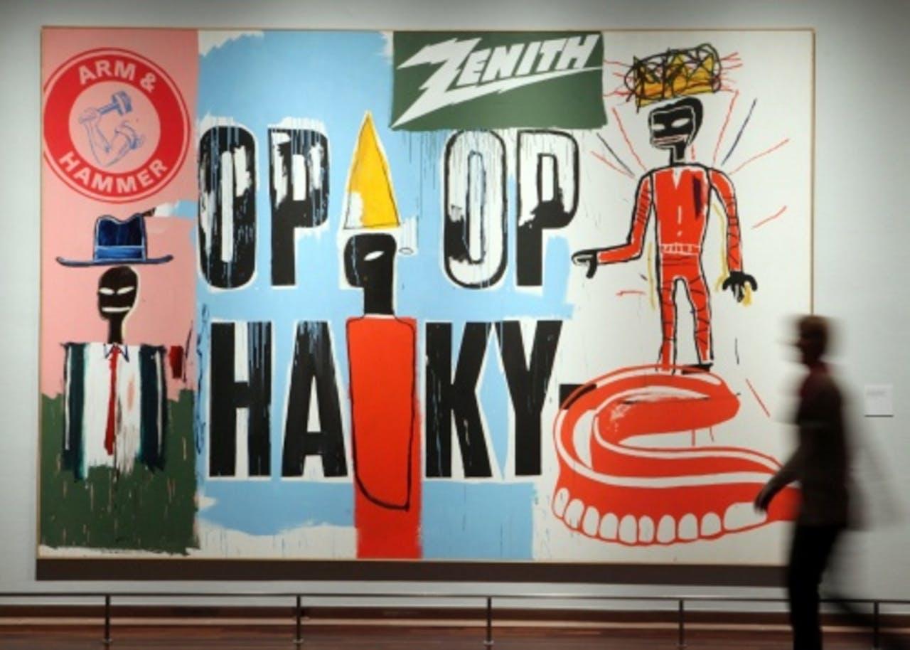 Ander werk van Jean-Michel Basquiat. EPA