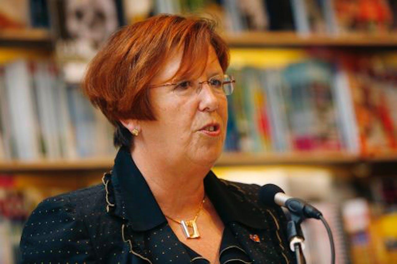 Burgemeester Annemarie Jorritsma. ANP Kippa