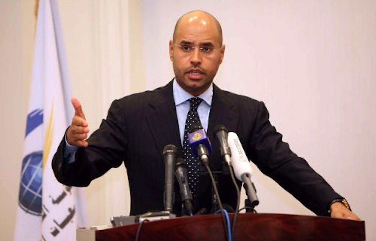 Saif al-Islam. EPA