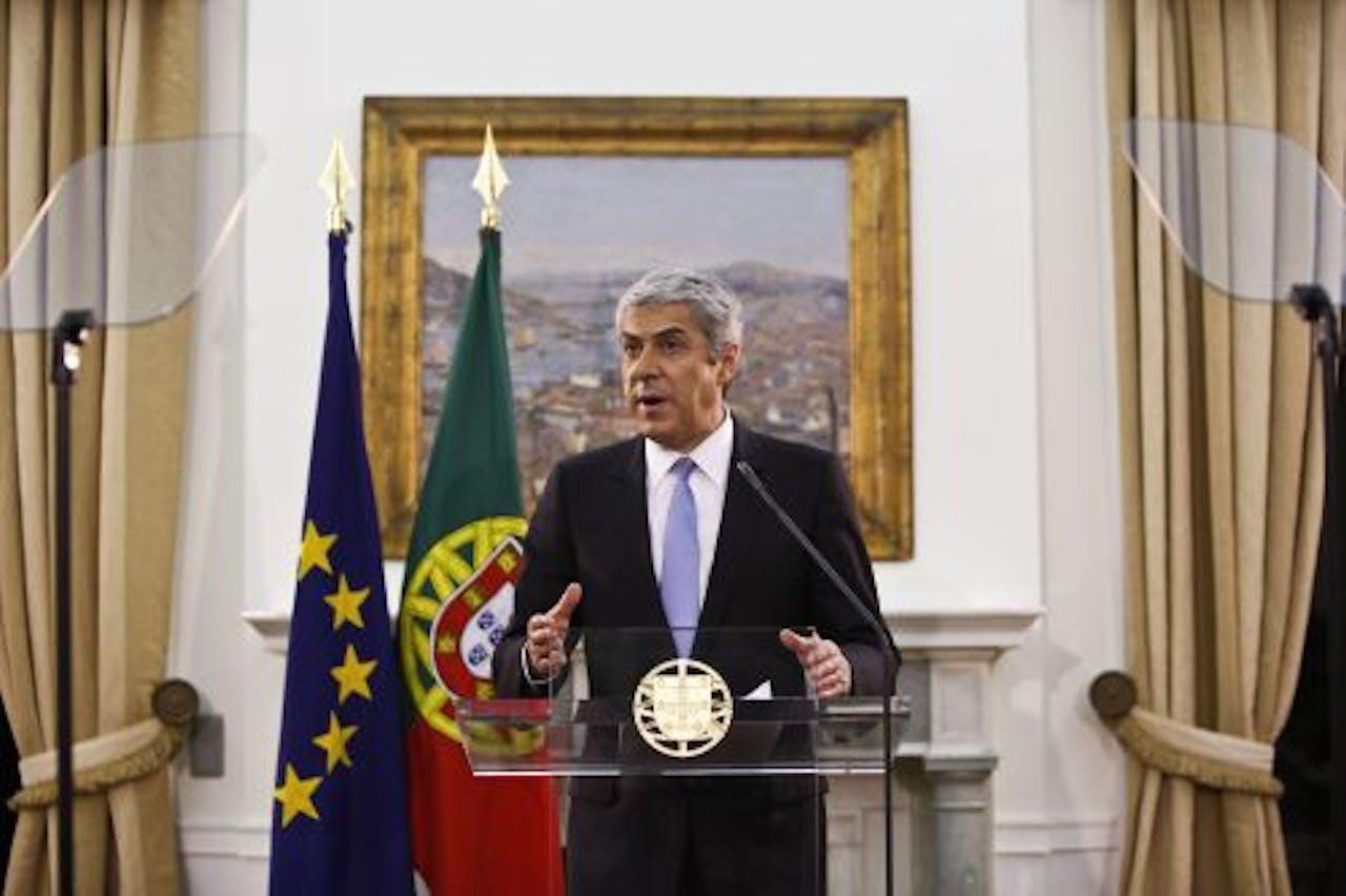 Premier José Socrates van Portugal. EPA