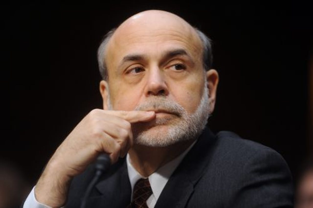 President Ben Bernanke van de Federal Reserve. EPA