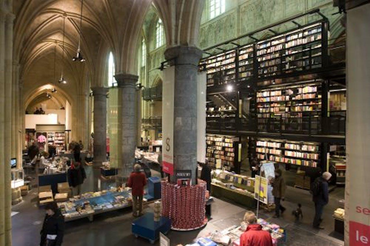 Boekwinkel Selexyz Dominicanen in Maastricht is gevestigd in een voormalige kerk. ANP