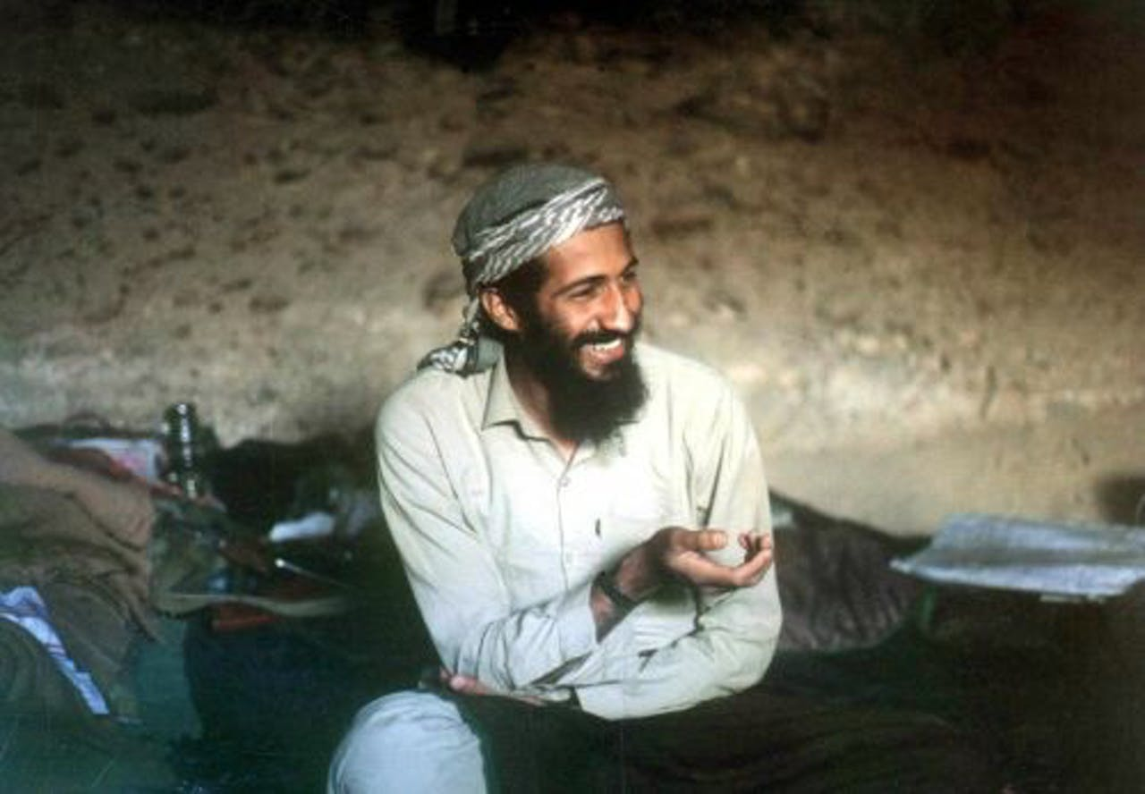 Osama bin Laden. EPA