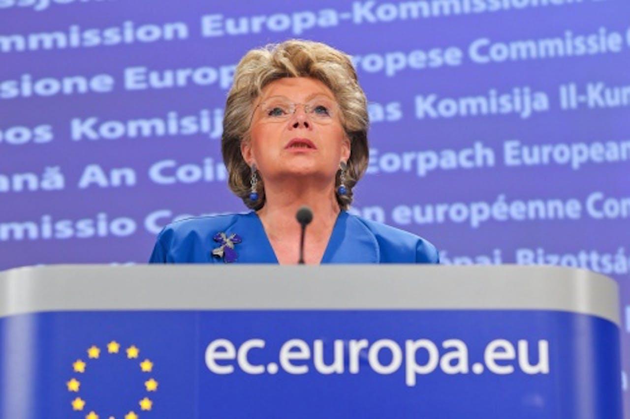 Viviane Reding. EPA