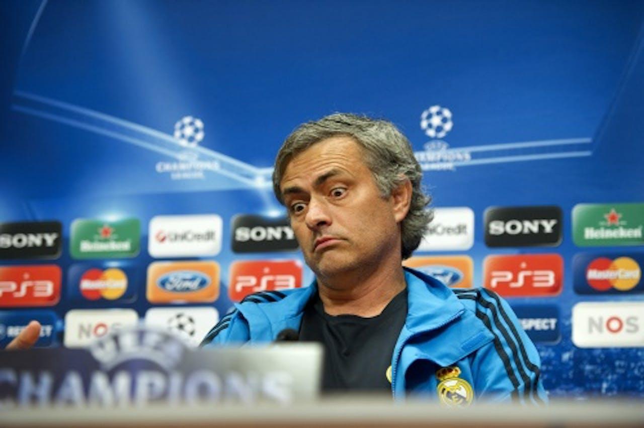 Real-trainer José Mourinho gunt zijn sterspelers rust tegen Ajax. ANP