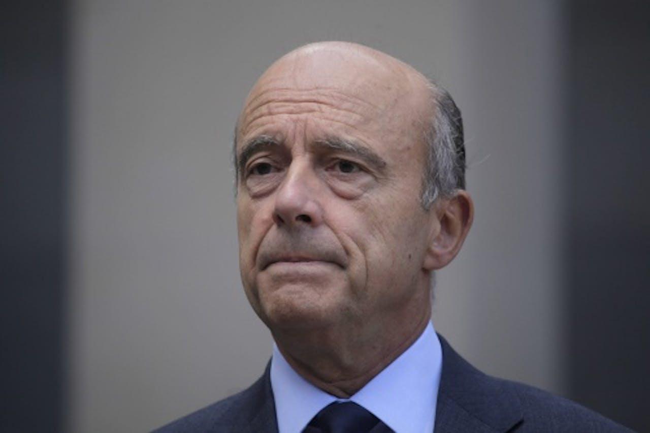 Alain Juppé. EPA