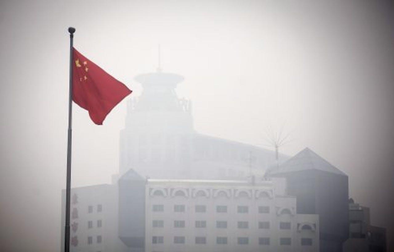 Chinese vlag. EPA